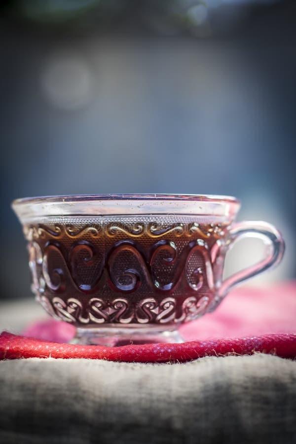 Black tea of Camellia sinensis,common tea. royalty free stock photos