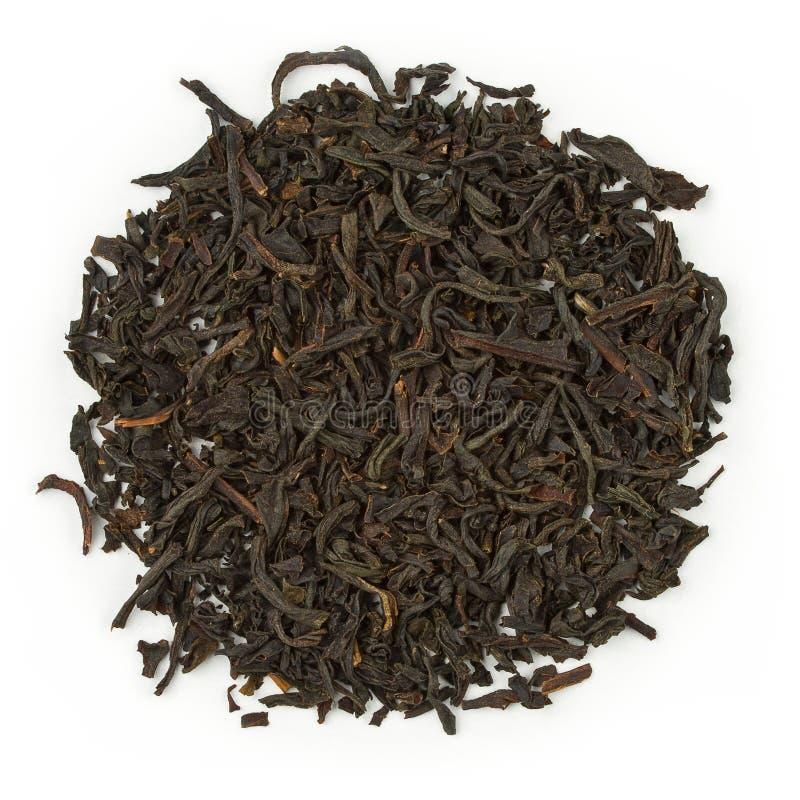 Black tea earl grey bergamot royalty free stock photos