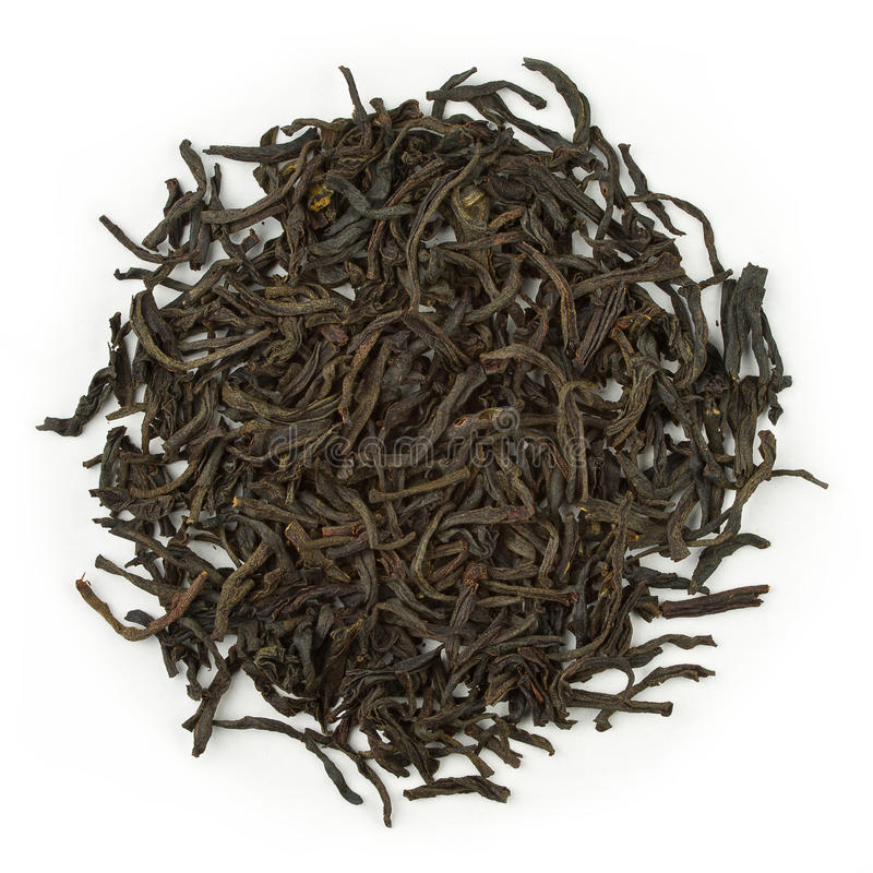 Black tea earl grey royalty free stock image