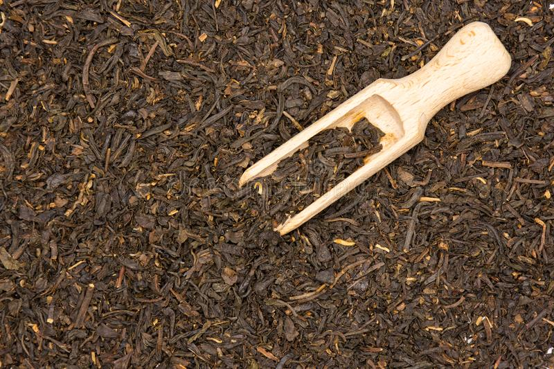 Black tea earl grey royalty free stock images