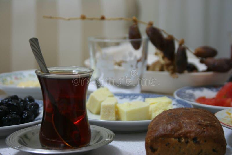 Black Tea on Iftar royalty free stock photos