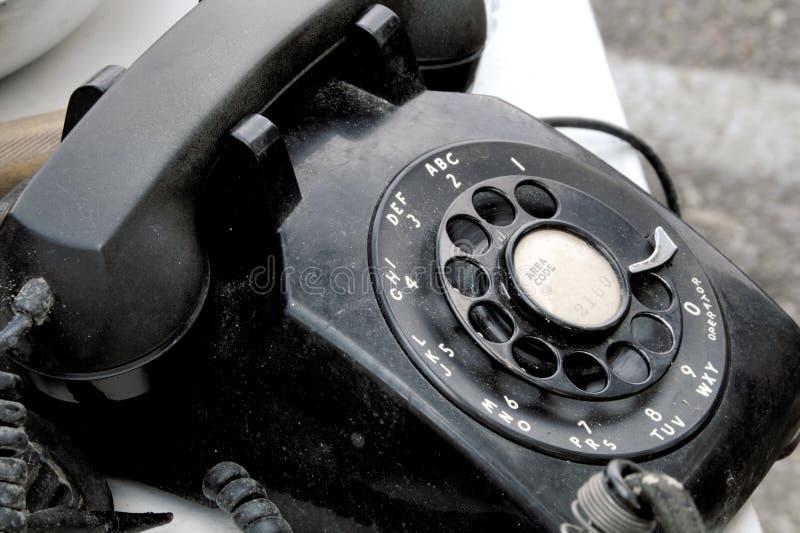 Black Telephone royalty free stock photography