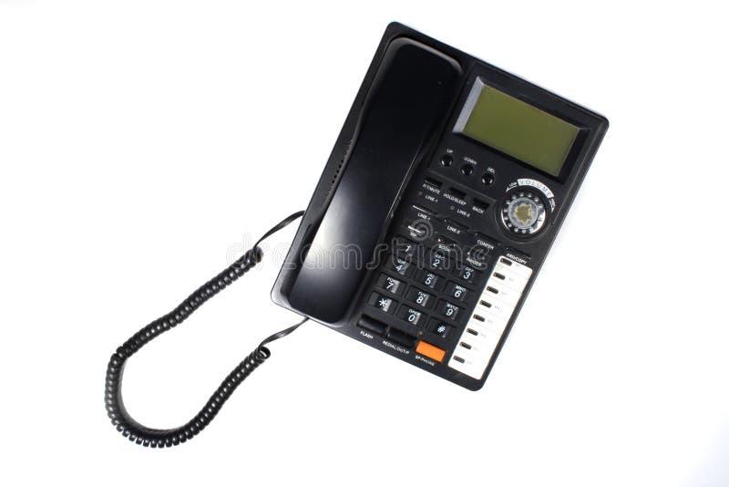 Black Telephone stock image
