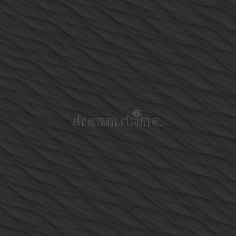 Download Black Texture Abstract Pattern Seamless. Wave Wavy Modern Geomet Stock Vector - Illustration of monochrome, artistic: 88056428