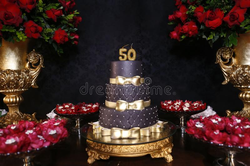 121 50th Birthday Cake Photos Free Royalty Free Stock Photos From Dreamstime