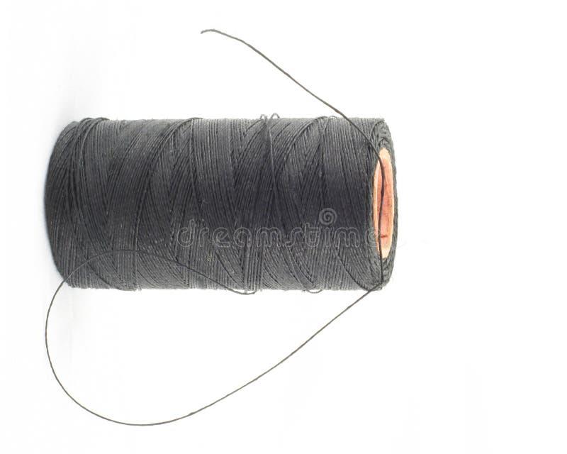 Free Black Thread On White 2 Stock Photo - 582560