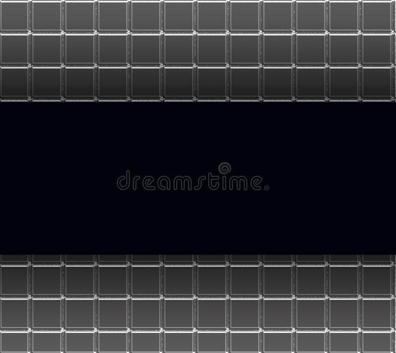 Black Tile Background royalty free stock image