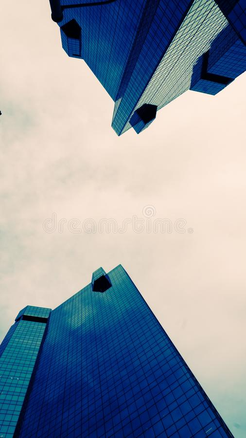 Black Tinted Glass High-rise Building Low Angle Photography Free Public Domain Cc0 Image