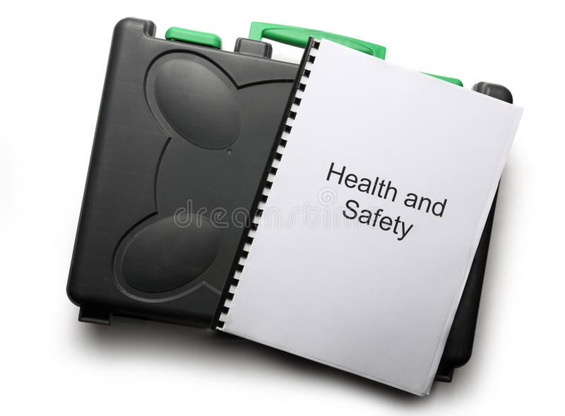 Download Black toolbox and notebook stock photo. Image of copybook - 28745030