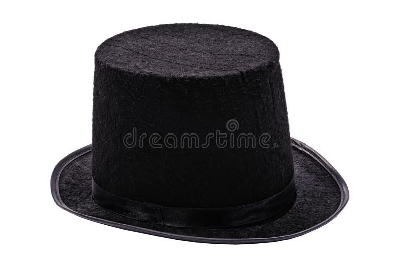 Download Black top hat stock photo. Image of vertical, white, pipe - 26751436