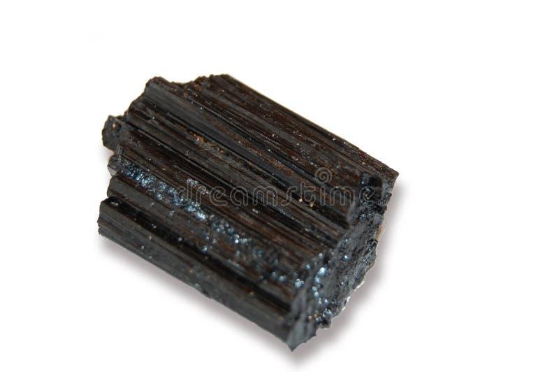 Black Tourmaline royalty free stock photo