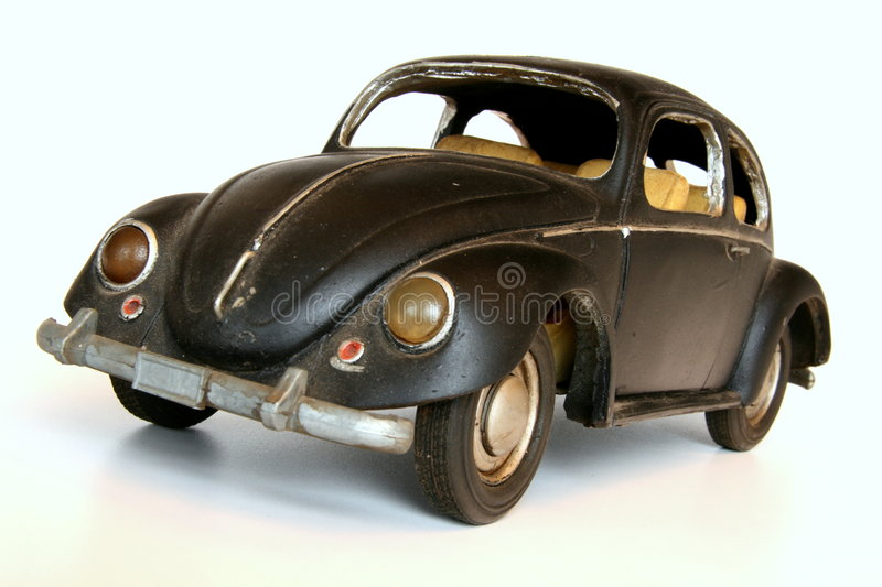 Black Toy Car Royalty Free Stock Photography