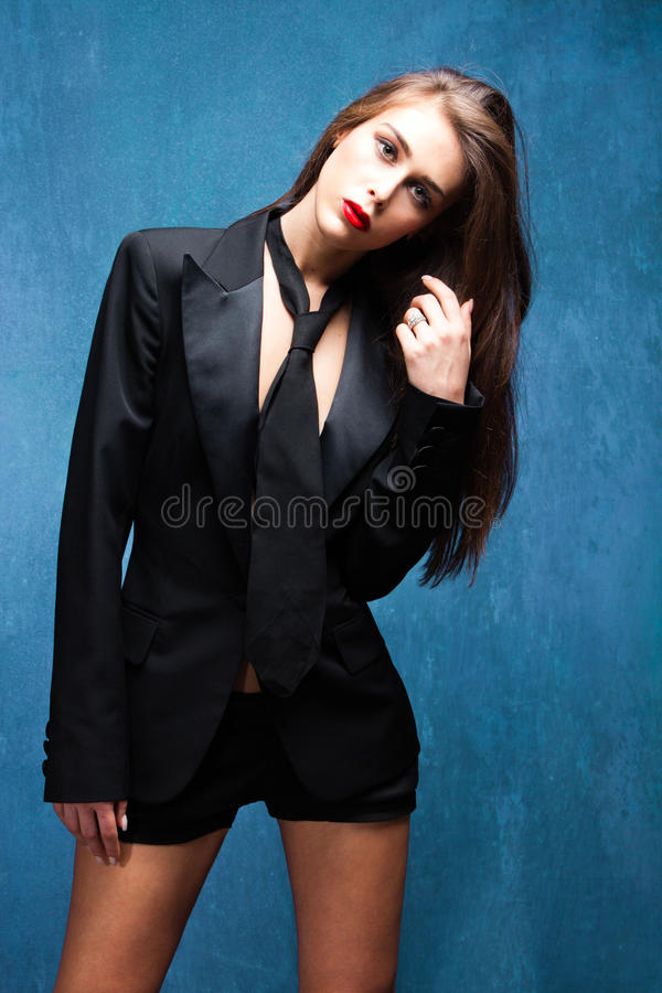 Download Black tuxedo stock image. Image of slim, young, blue - 25393299