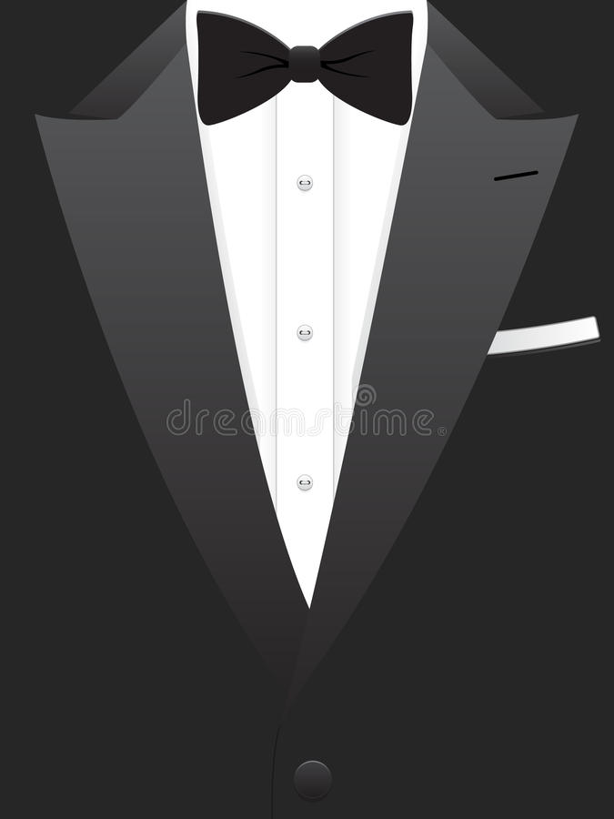 Free Black Tuxedo EPS Royalty Free Stock Images - 15510959