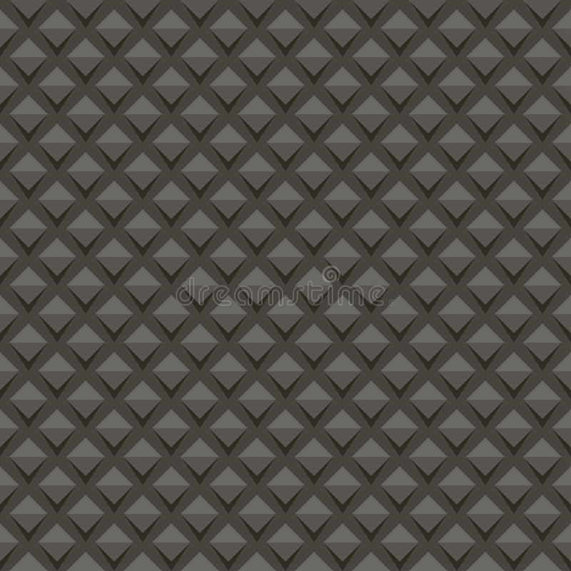 Black universal vector seamless patterns, tiling. Geometric ornaments. royalty free stock image