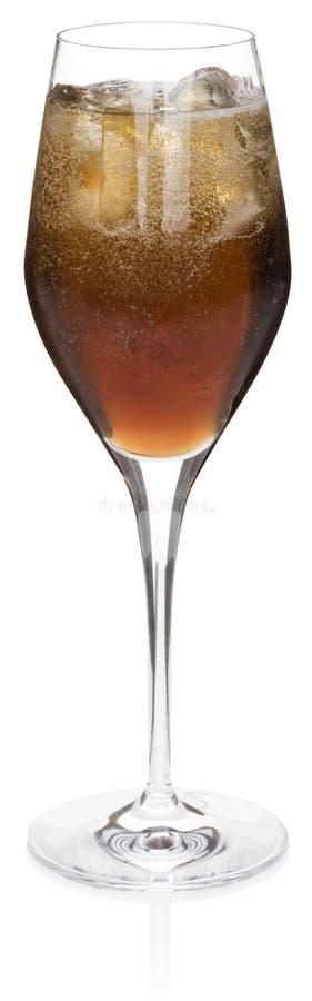 Black Velvet Cocktail stock image