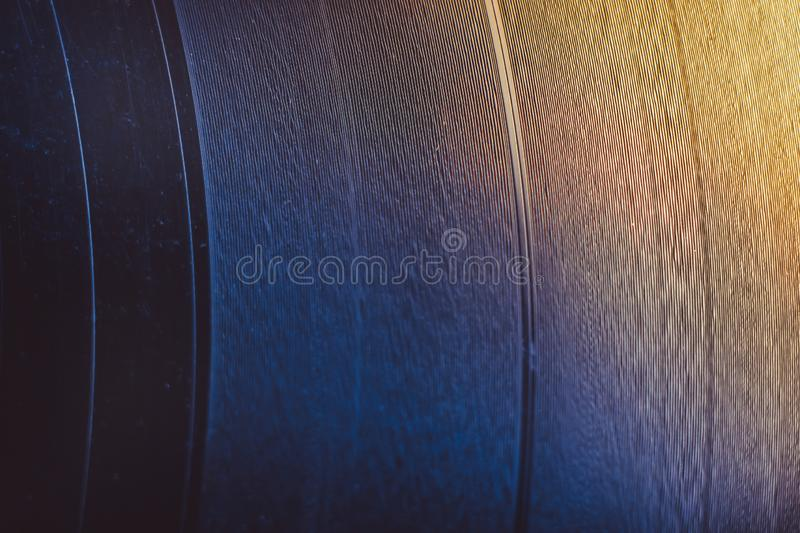 Black vinyl record isolated on white background royalty free stock photos