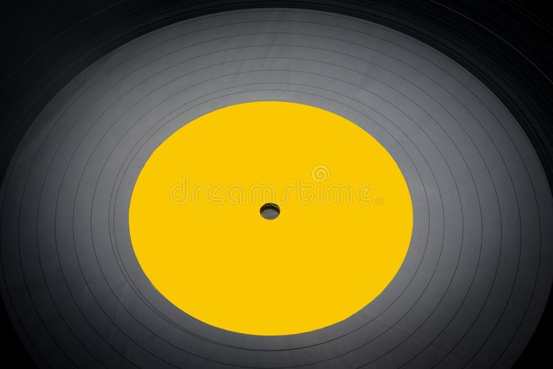 Black vinyl records stacked up. See my other works in portfolio royalty free stock images
