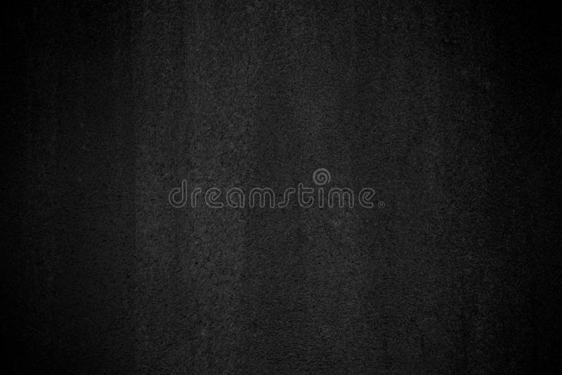 Black wall texture pattern rough background. Old black grunge background. Dark wallpaper copy space for design royalty free stock photos