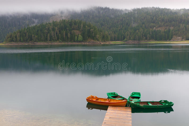 Download Black Watered  Mountain Lake Stock Photo - Image: 18383876
