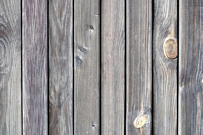 Black weathered wooden fence stock photography