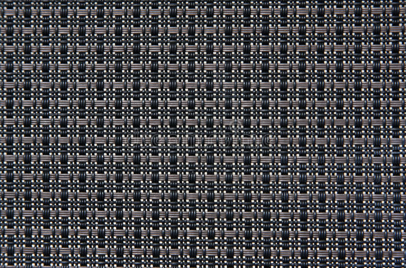 Black Weave Pattern Stock Images