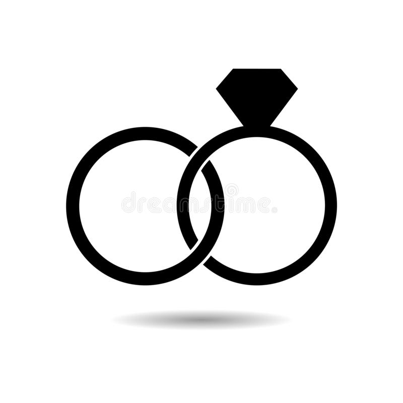 black wedding ring with diamond simple icon or logo stock vector illustration of carat marry 131288360 black wedding ring with diamond simple