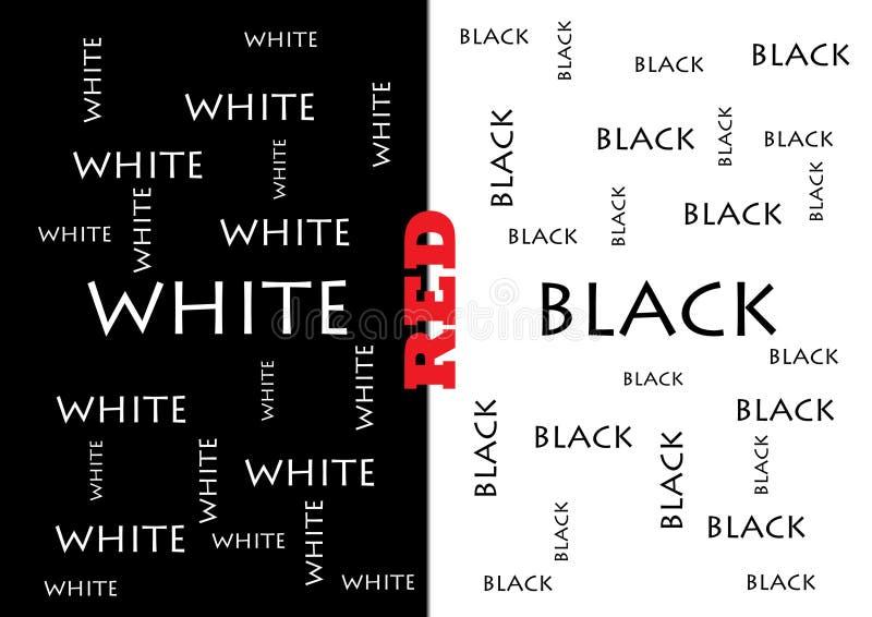 Black&white royalty free illustration