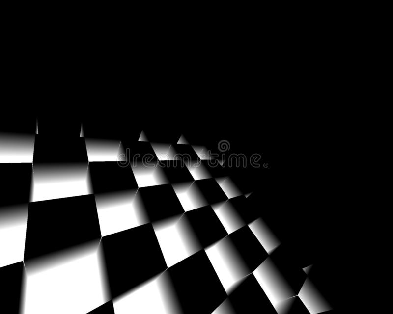 Black and white abstract textured background, Geometric lines monochrome with gradient, use for desktop wallpaper or website vector illustration