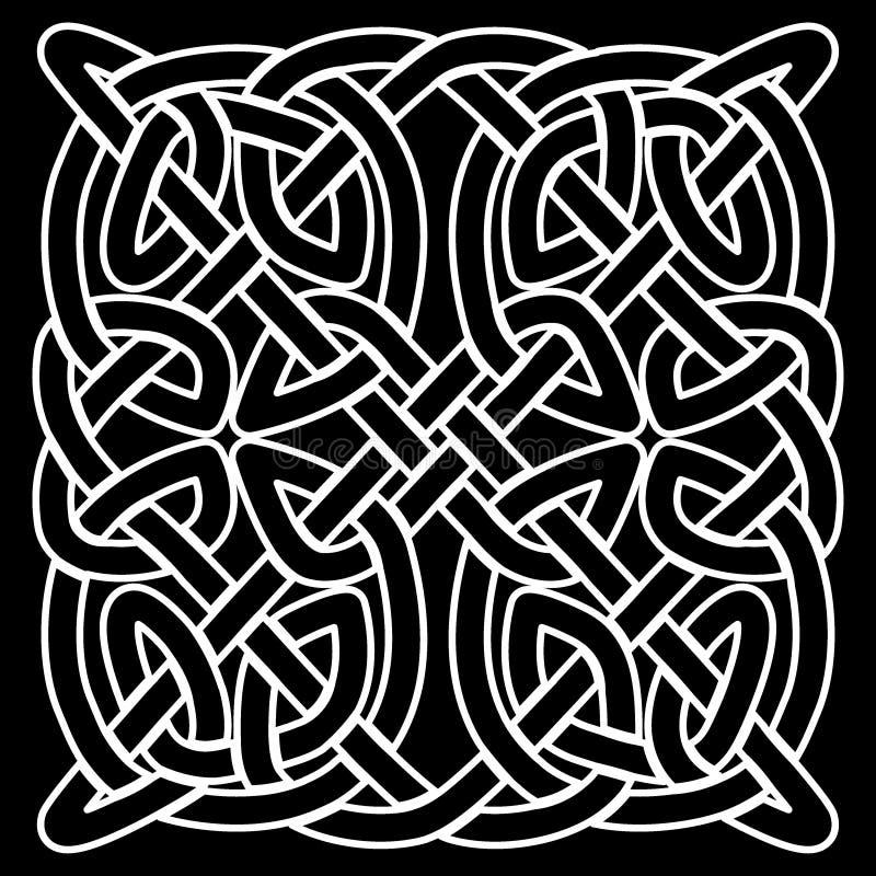 Celtic folk ornament stock illustration  Illustration of