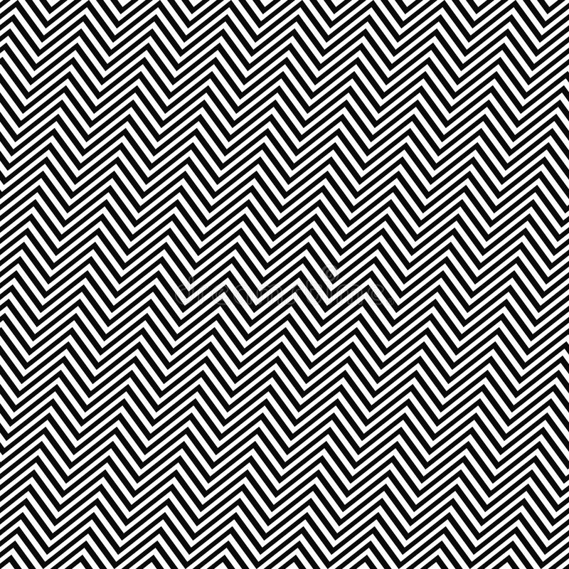 Line Drawing Of Zig Zag : Black white angular seamless zig zag line pattern stock