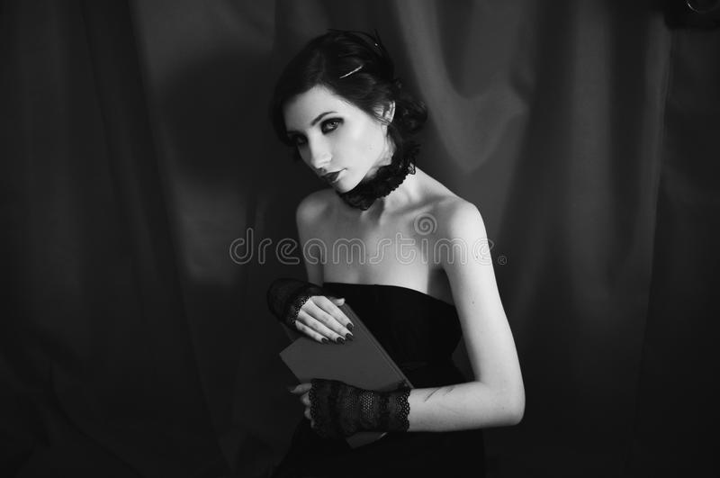 Download art black and white photography unusual appearance stock image image of noir
