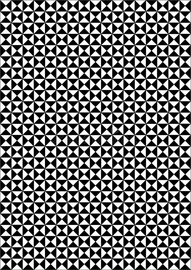 Download Black and white background stock vector. Illustration of geometric - 13507218