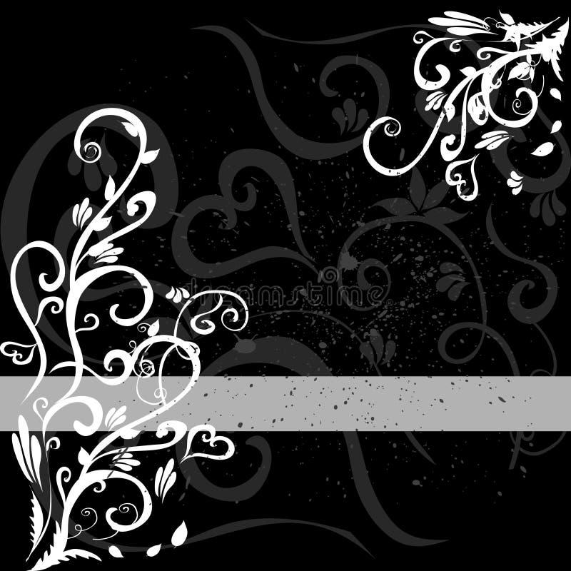 Black And White Background Stock Photo