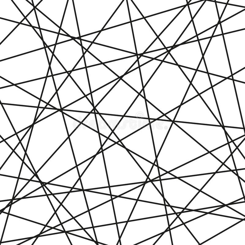 Black and White Geometric Vector Background vector illustration