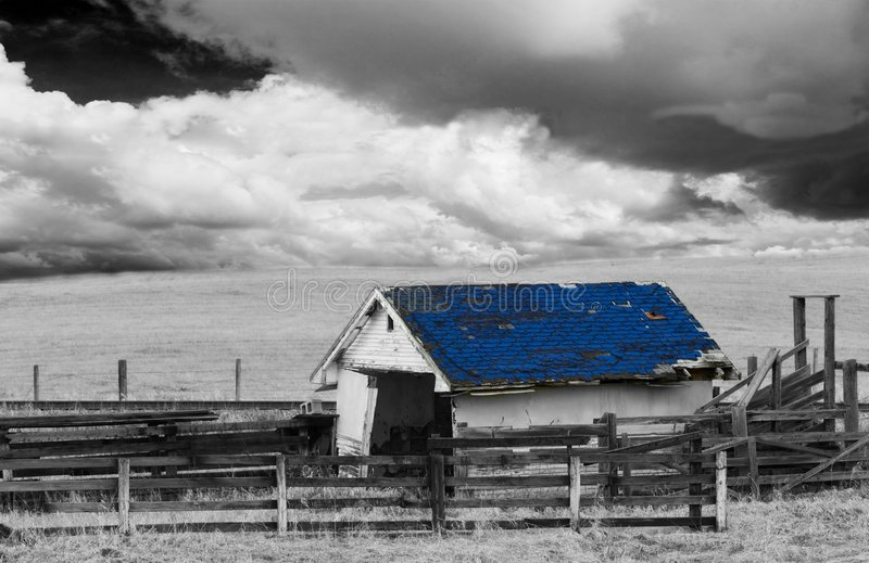 Download Black and white barn stock photo. Image of rural, black - 2307670