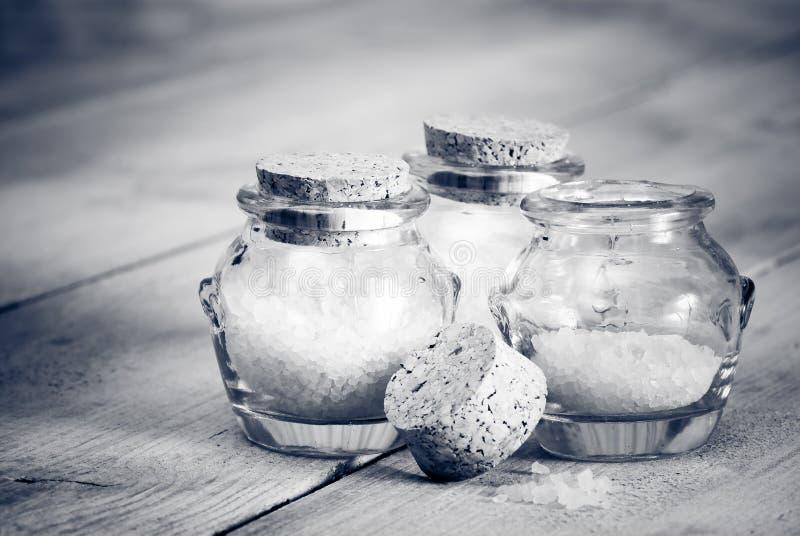 Download Black & White Bath Salts stock image. Image of style, white - 7795859
