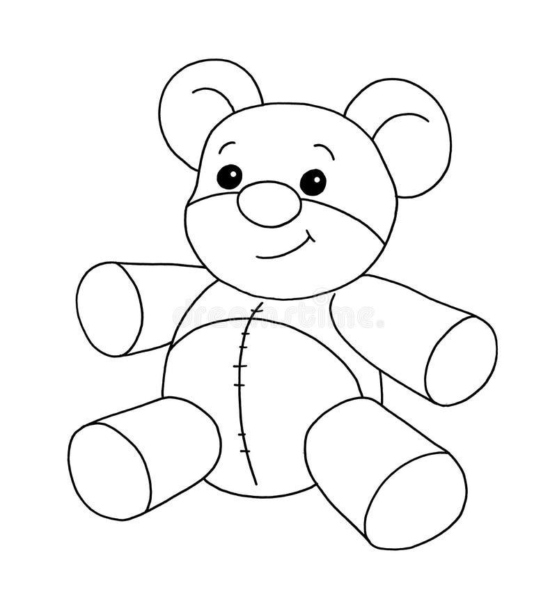 Download Black and white - Bear stock illustration. Image of children - 12543628