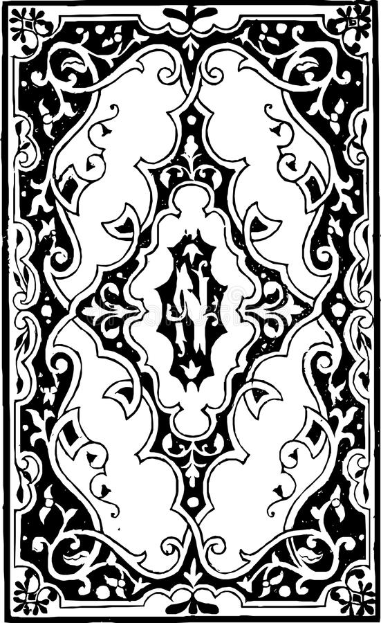 Black, White, Black And White, Pattern stock images
