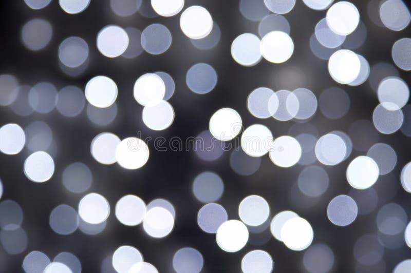Black and white blur illumination royalty free stock image
