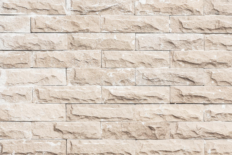 Black and white brick wall texture background/brick wall pattern. Gray color of modern style design decorative uneven royalty free stock photo