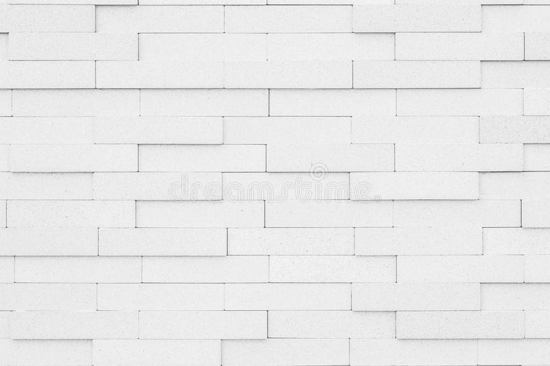 Black And White Brick Wall Texture Background . Stock