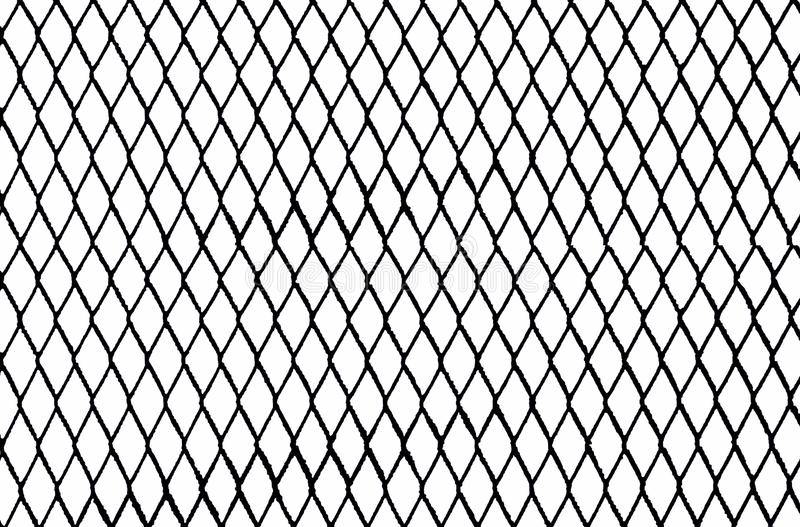 Black and White Chain Link stock illustration ...