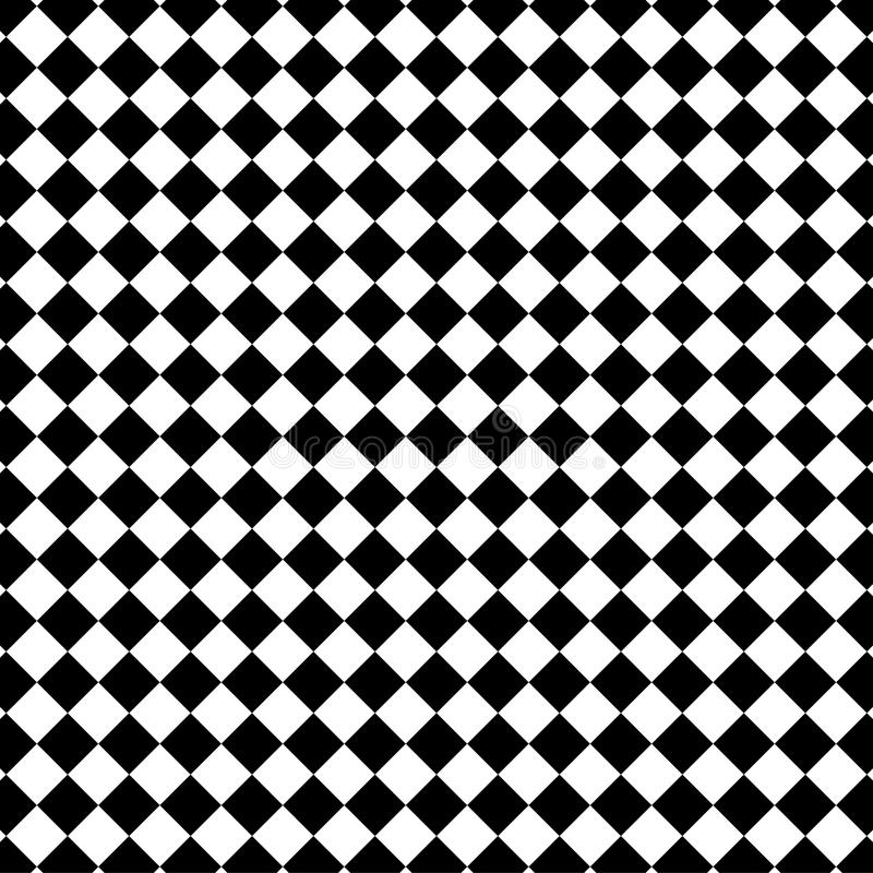 Black and white check pattern stock photo
