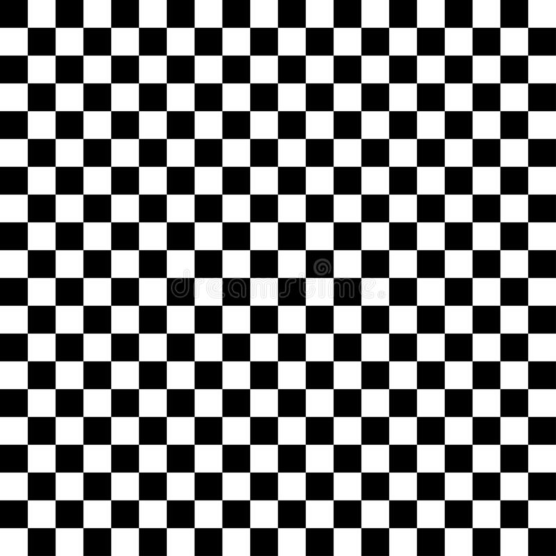 Black and white checkered abstract background vector illustration