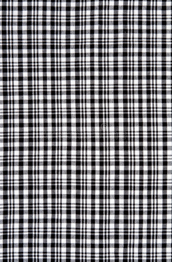 Download Black And White Checkered Cloth Stock Photo - Image: 24718060