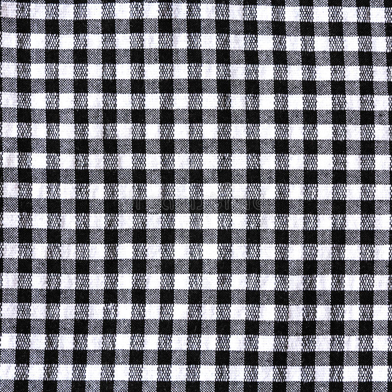 Download Black And White Checkered Tablecloth Texture Stock Photo   Image:  72919934