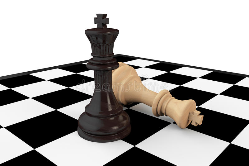 Download Black And White Chess Kings Stock Illustration - Image: 30451783