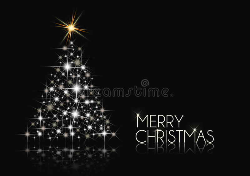 Christmas Background Black And White