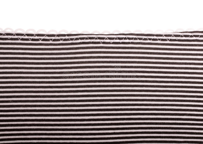 Black and white cloth